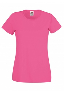 Dames T-Shirt Magenta - afb. 1