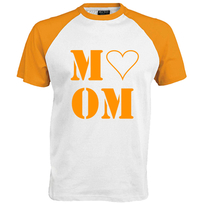 Love Mom Flex Neon Oranje