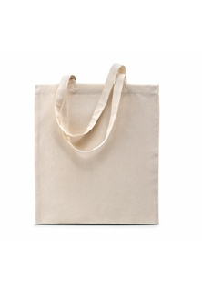 Shopper met korte hengsels Naturel - afb. 1